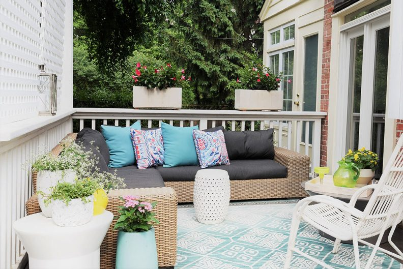 Picture of nicely furnished outdoor living space